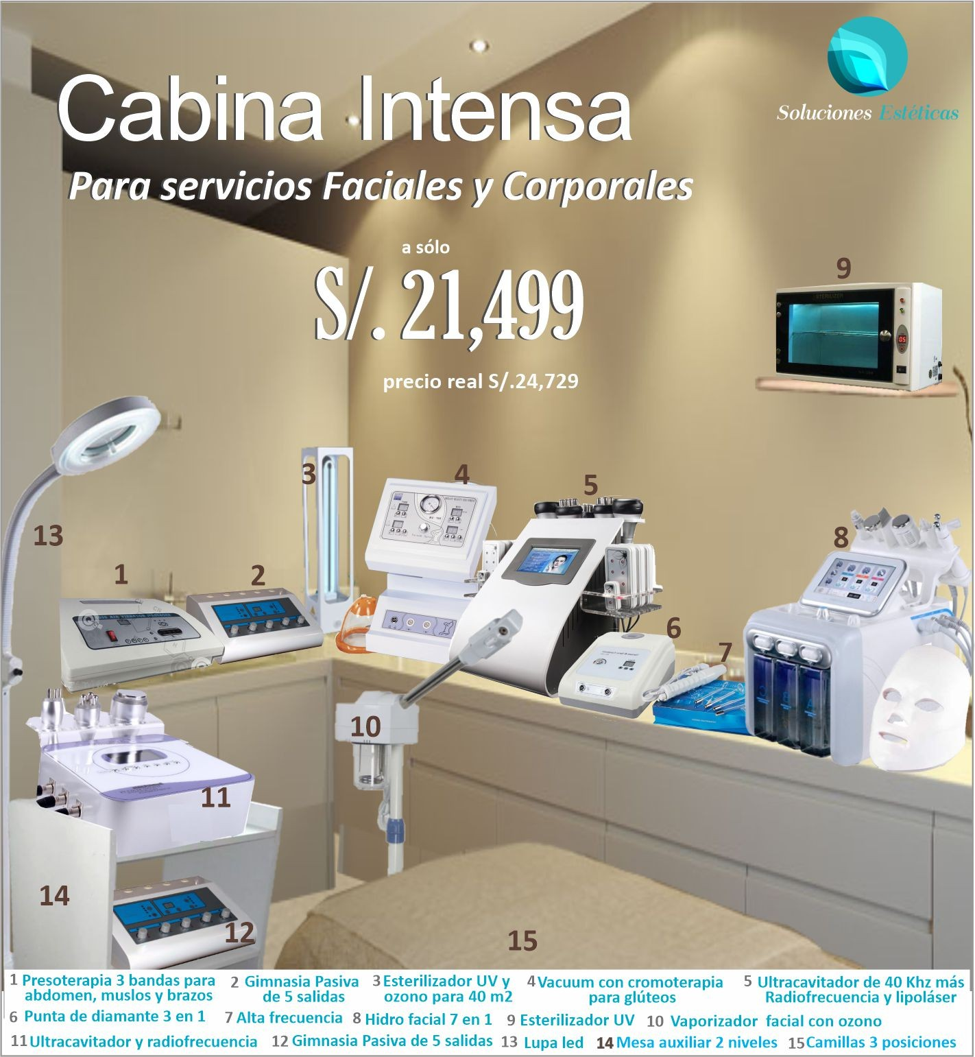 Cabina Intensa